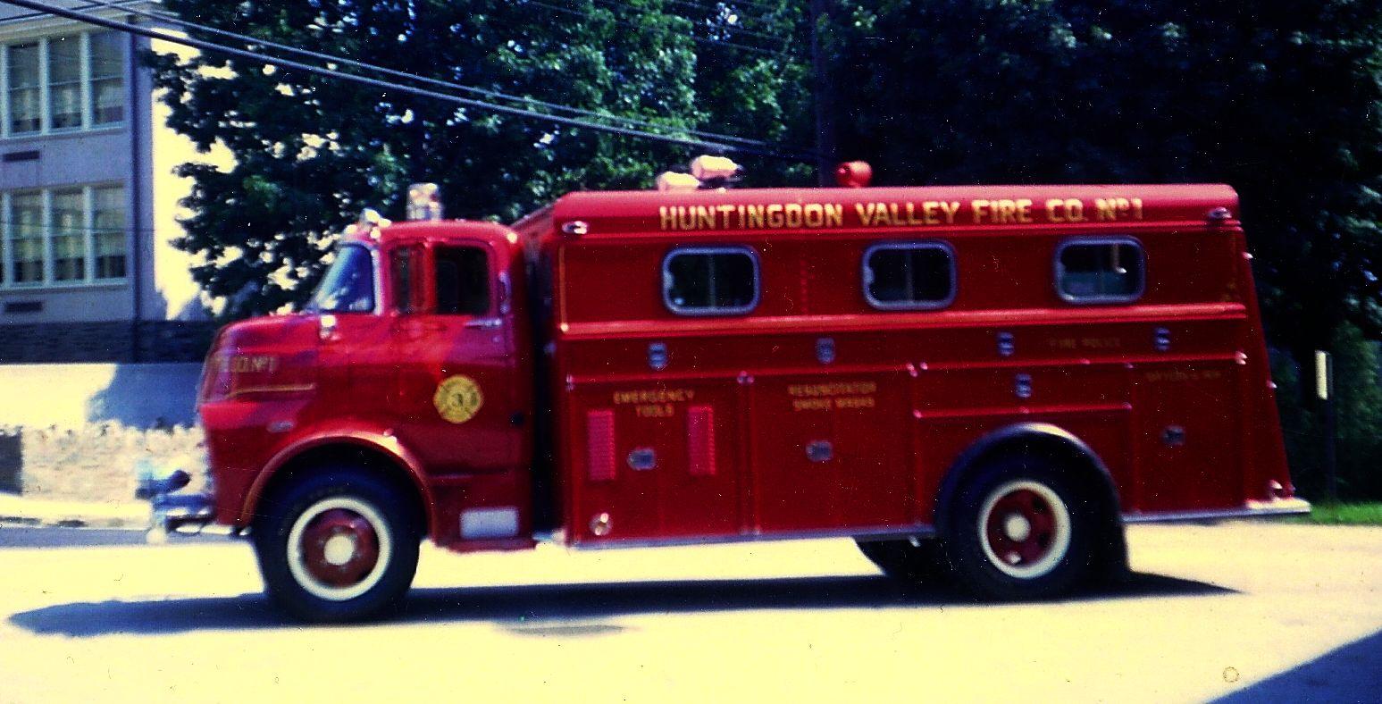 1959 Dodge Rescue Truck - A
