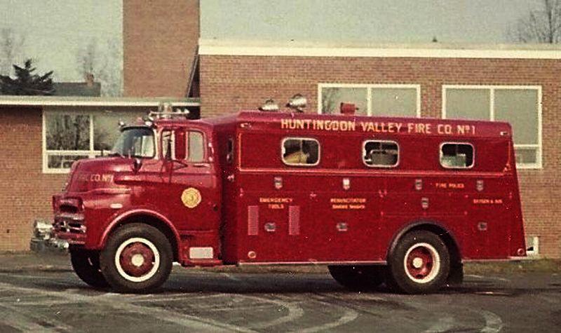 1959 Dodge Rescue Truck - B