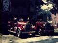 1928 Hahn Chemical & 1929 Hahn Pumper - Circa 1942 - 1945