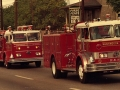 802, 803, & 806 in Parade - 1968