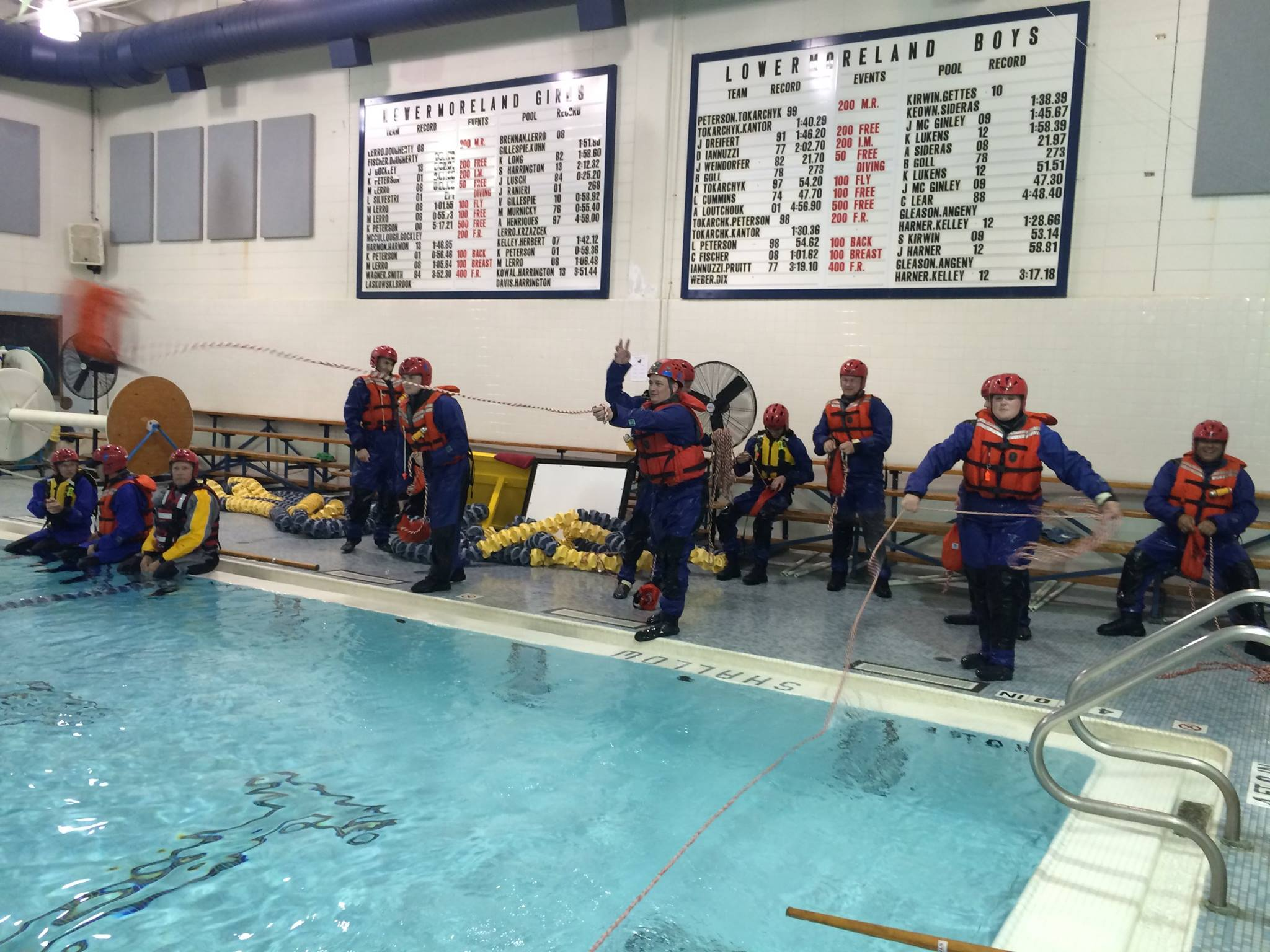 Water Rescue Drill